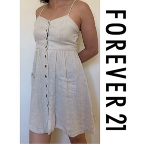 Forever21 Button Down Summer Dress